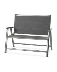 Anthracite Aluminium Garden Bench