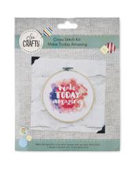 So Crafty Amazing Cross Stitch Kit