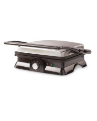 Ambiano 3 in 1 Panini Press - Stainless Steel