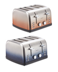 Ambiano 4 Slice Ombre Toaster
