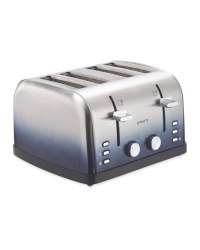 Ambiano 4 Slice Ombre Toaster - Blue