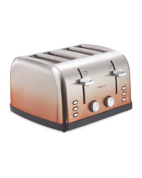 Ambiano 4 Slice Ombre Toaster - Copper