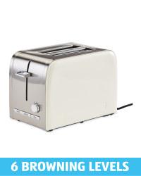 Ambiano Cream Premium Toaster