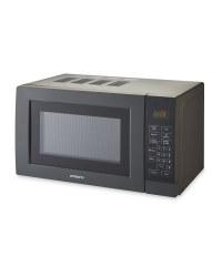 Ambiano Gunmetal Digital Microwave