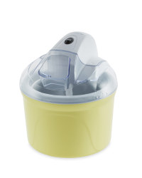 Ambiano Ice Cream Maker - Yellow