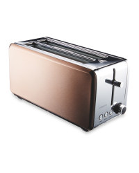 Ambiano Premium Long Slot Toaster - Copper