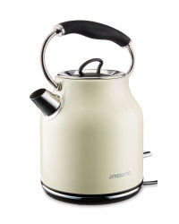 Ambiano Retro Kettle - Cream