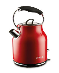 Ambiano Retro Kettle - Red