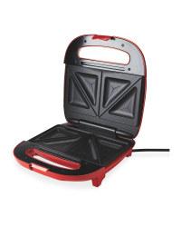 Ambiano Sandwich Maker - Red