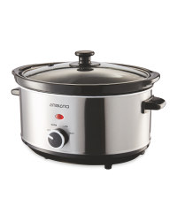 Ambiano Slow Cooker - Silver