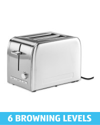Ambiano Stainless Steel Toaster
