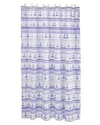 Anchor & Wave Shower Curtain
