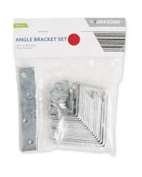 Workzone 38 Piece Angle Bracket Set