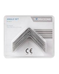 Workzone 6 Piece Angle Bracket Set