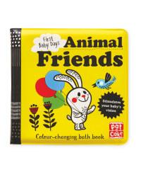 Animal Colour Changing Bath Book