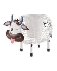 Gardenline Cow Silhouette Pot
