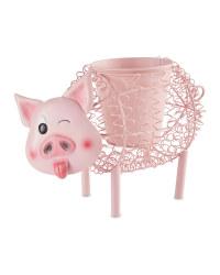 Gardenline Pig Silhouette Pot