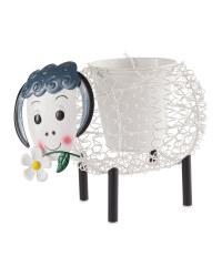 Gardenline Sheep Silhouette Pot