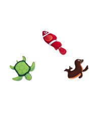 Animal Set - Turtle, Fish and Seal
