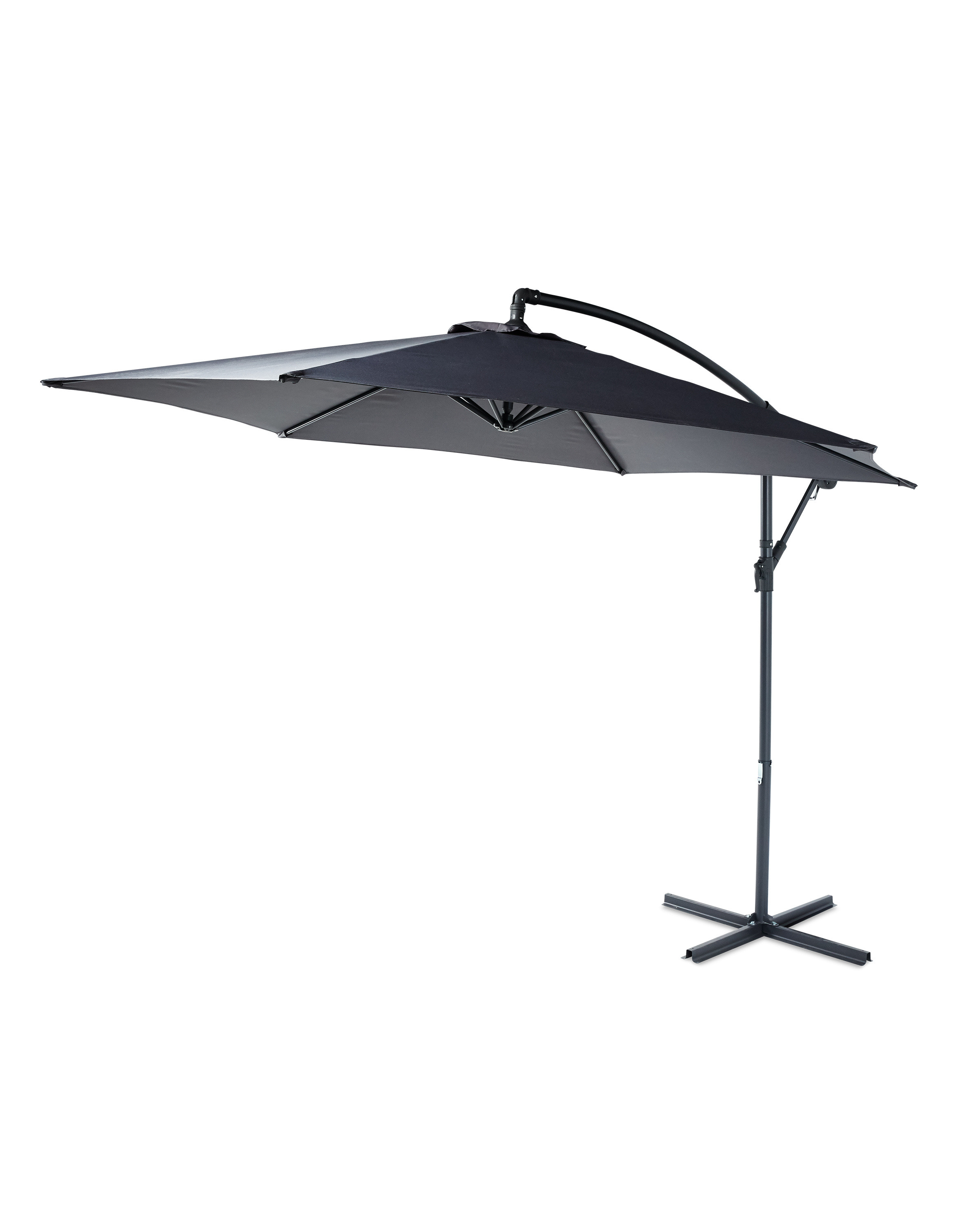 5f90a4f7f384 Garden Cantilever Parasol | Outdoor Giant Patio Umbrella | ALDI UK