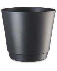 Anthracite Matte Ceramic Pot