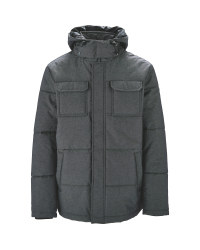 Anthracite Men's Quilted Jacket