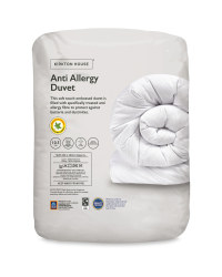 Double Anti-Allergy Embossed Duvet