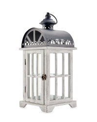 Antique Style Indoor Wooden Lantern