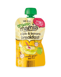 Mamia Apple & Banana Breakfast Pouch