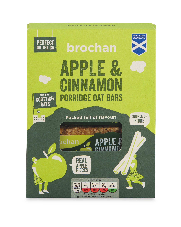 Apple & Cinnamon Porridge Bars