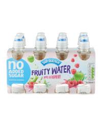 Apple & Raspberry Fruity Water
