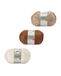 So Crafty Aran Knitting Yarn