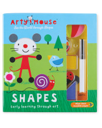 Arty Mouse Shapes Book and Kit