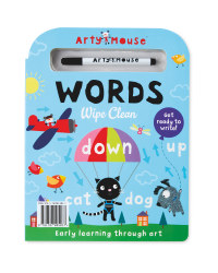 Arty Mouse Words Book