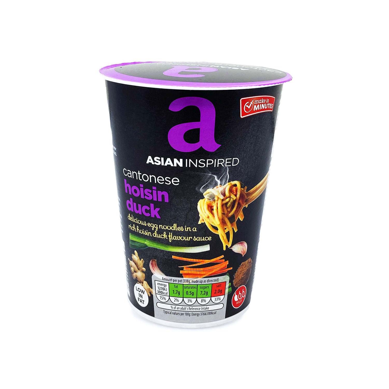 Asian Inspired Noodles Hoisin Duck
