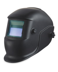 Auto Dimming Welding Helmet - Black