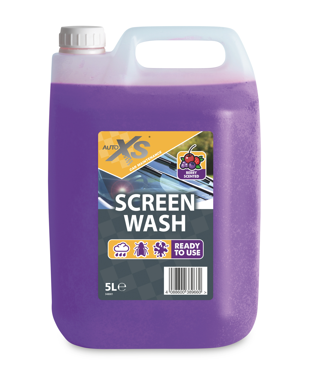 Auto XS Berry Scented Screen Wash 5L