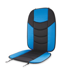 Auto XS Car Seat Overlay - Blue/Black