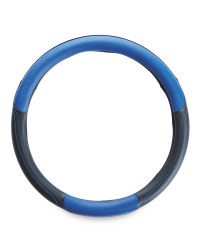 Auto XS Steering Wheel Cover - Blue