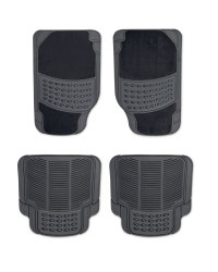 AutoXS Dots Combination Car Mats