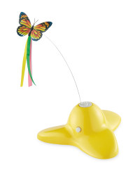 Pet Collection Automated Cat Toy - Yellow