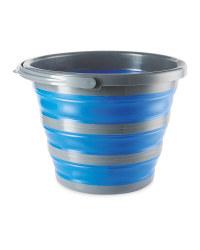 Aventuridge Blue Folding Bucket
