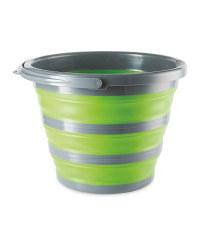 Aventuridge Green Folding Bucket