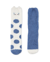 Avenue Cat Lounge Socks 2 Pack