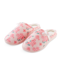 Avenue Ladies' Floral Slippers