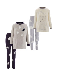 Avenue Ladies' Fleece Loungewear Set