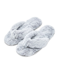 Avenue Ladies' Grey Slippers