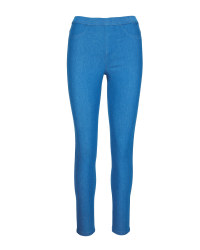Avenue Ladies' Jeggings - Light Indigo