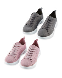 Avenue Ladies' Knitted Trainers