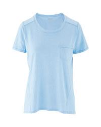 Avenue Ladies' Light Blue Spring Top